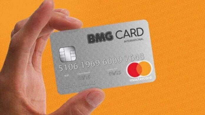 Cartão BMG Consignado para aposentados e pensionistas