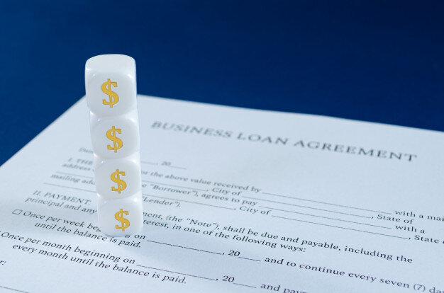 aprovação de financiamento
